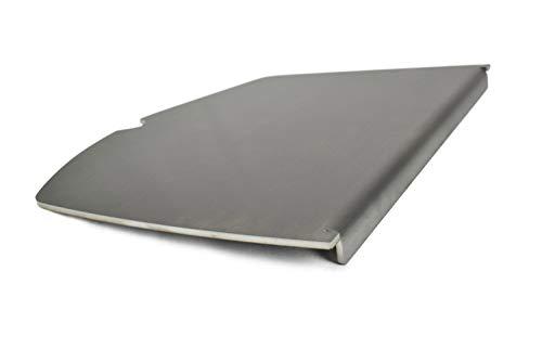 Edelstahl Grillplatte/Plancha passend für alle Grills der Weber Baureihe (Q100/Q1000 Baureihe)