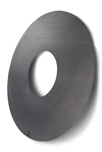 Grillrost.com Das Original Feuerplatte 80 & 100cm und Zubehör für Feuertonnen und Kugelgrills, Größe:Feuerplatte für 57er Kugelgrill