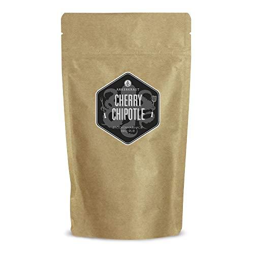 Ankerkraut Cherry Chipotle BBQ Rub, Rub Gewürzmischung für Rind, Schwein, Chicken Wings und Pulled Pork, 250g im aromadichten Beutel