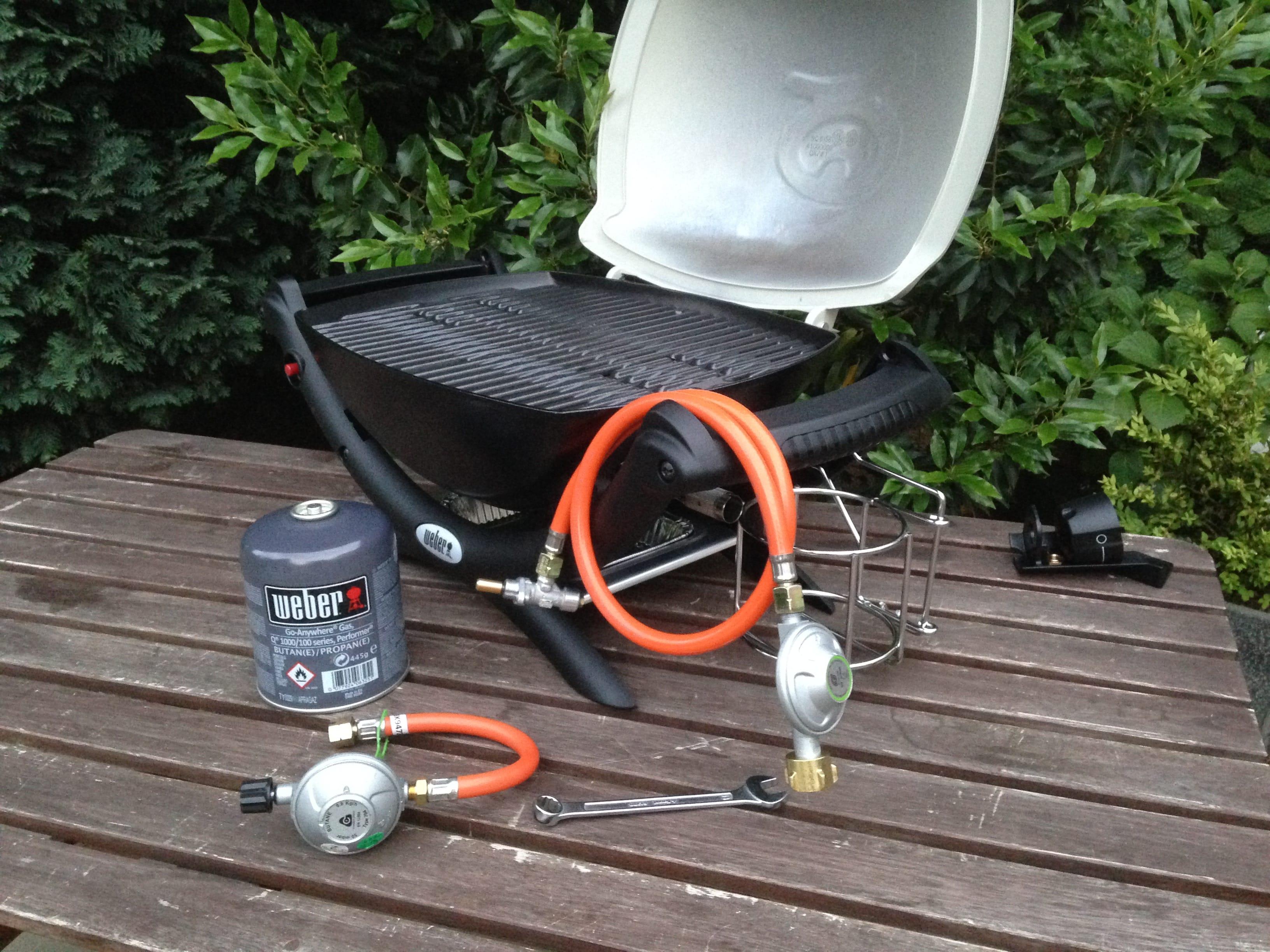 Weber Q 1000 Umrusten Auf Betrieb Mit Gasflasche