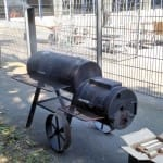 Smoker und Weber Smokey Mountain