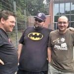 Volker, Pepo und Martin auf dem Grillcamp 2015