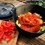 Pulled Chicken im Dutch Oven