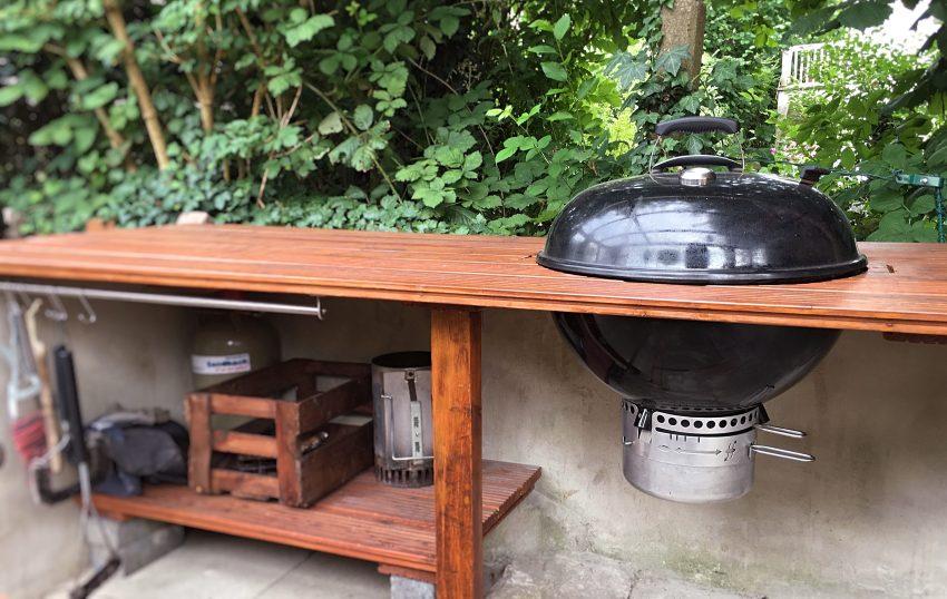 Kugelgrill In Tisch Einbauen Vom Weber Otp Zum Tischgrill