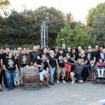 Gruppenfoto beim BBQ-Restaurant Rodeo Drive